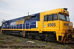 Pacific National locomotive 9305 arrived at Dimboola on the Mon.15.10 and was collected two weeks later by PM6 on Sun.28.10.